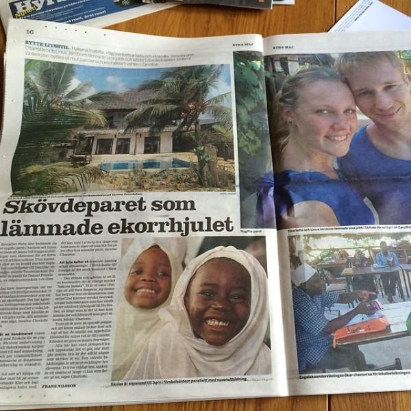 Tamani Villas News Paper Article