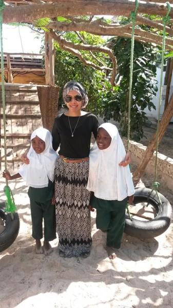 Volunteer at Tamani Nursery - Zahra Panjwani